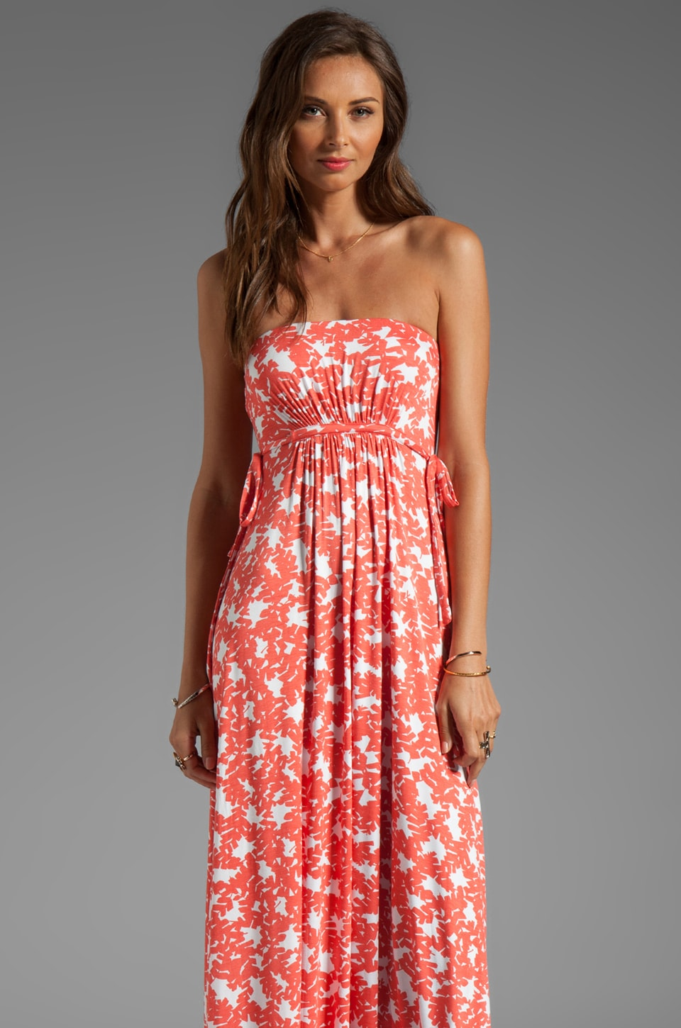 Rachel Pally Dragonfly Maxi Dress in Apricot Bonsai