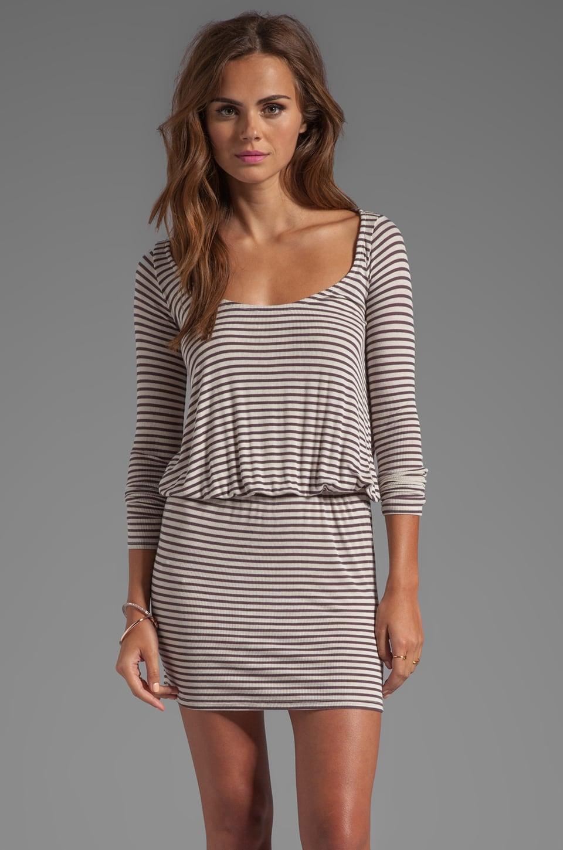 Rachel Pally Rib Hannah Dress in Alloy Stripe