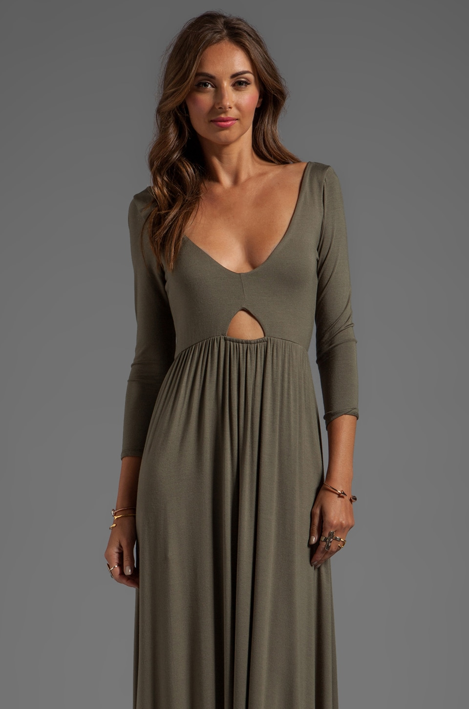 Rachel Pally Dakota Maxi Dress in Thyme
