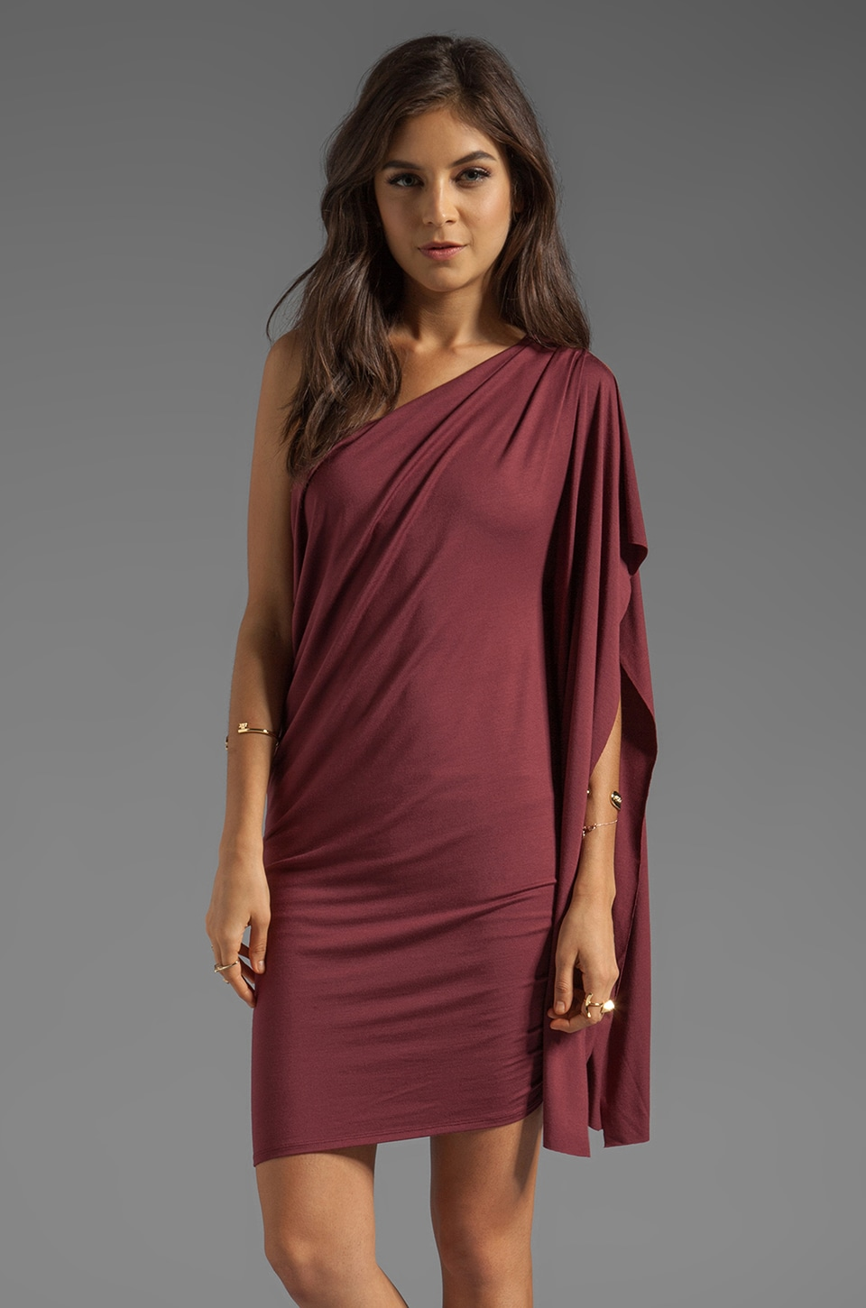 Rachel Pally Reed Dress in Pinot
