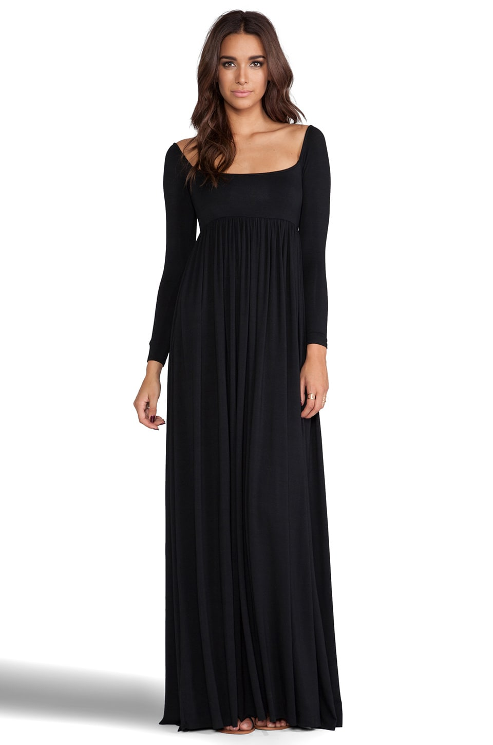 Rachel Pally Isa Dress in Black
