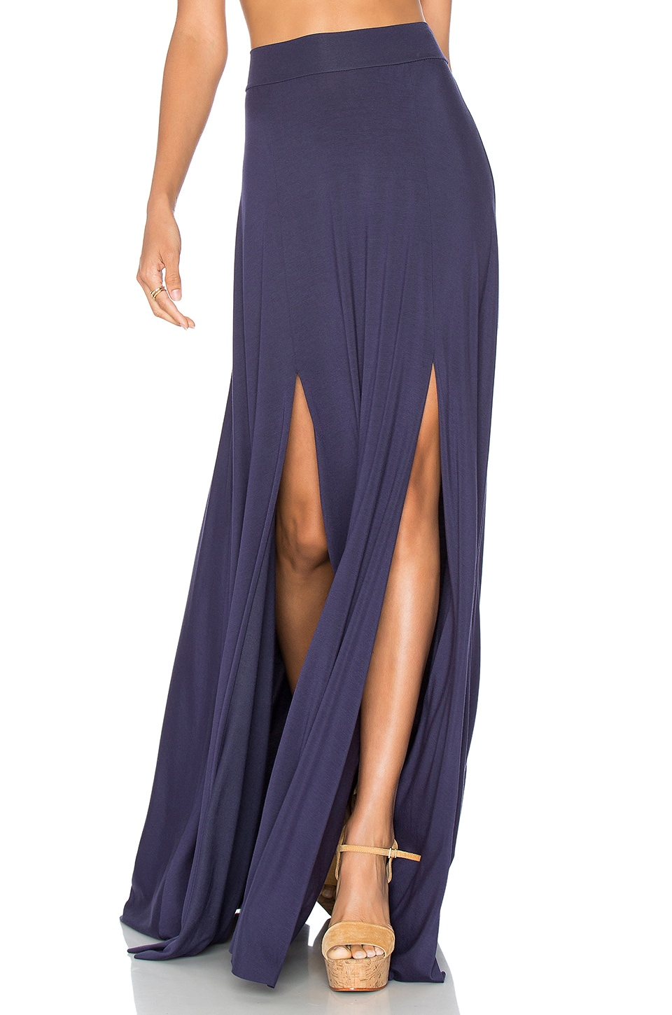 Rachel Pally Josefine Maxi Skirt in Nightfall