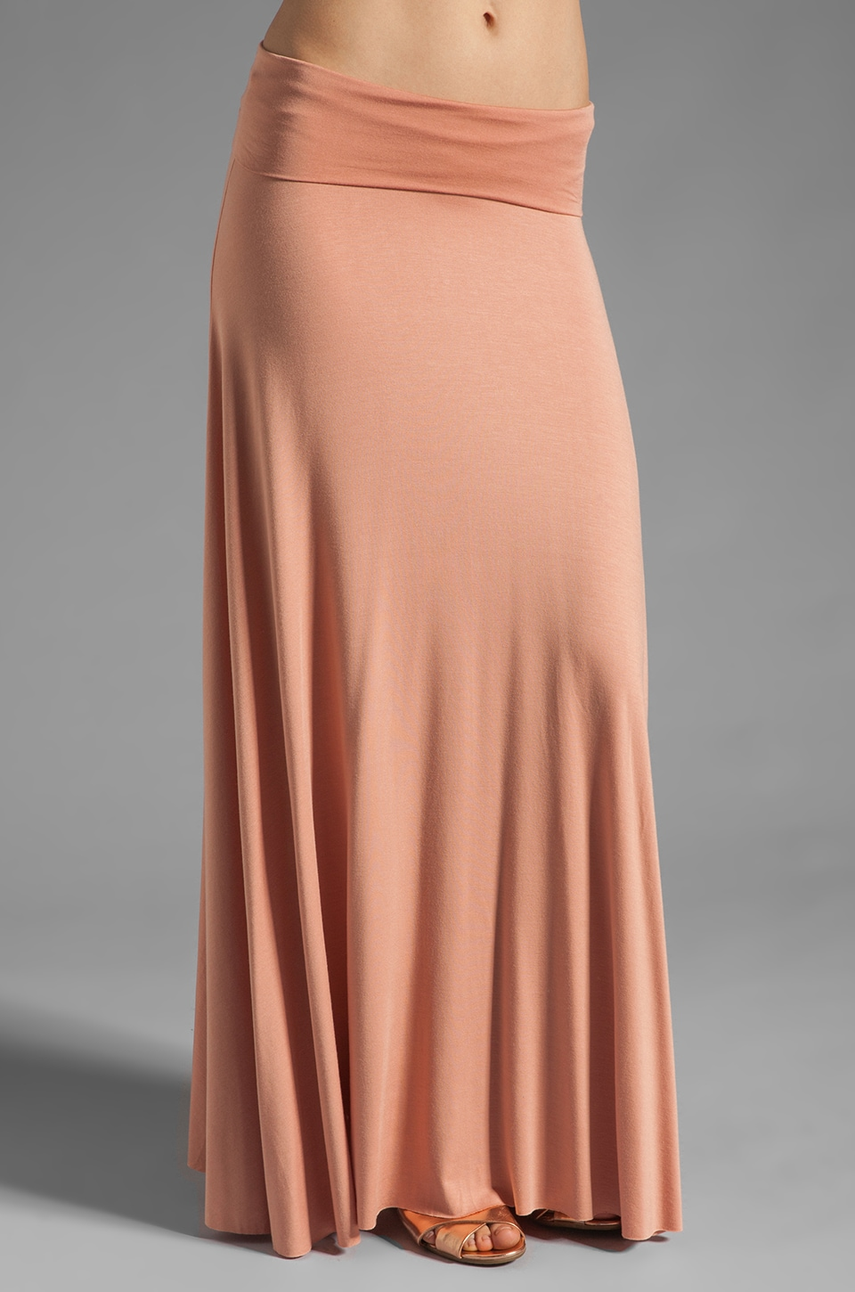 Rachel Pally Long Full Skirt in Clay