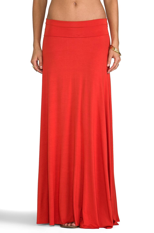 Rachel Pally Long Full Skirt in Lava