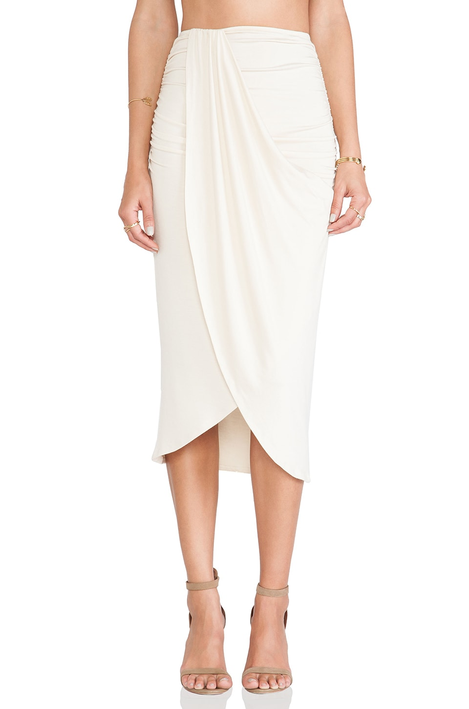 Rachel Pally Kerr Skirt in Cream
