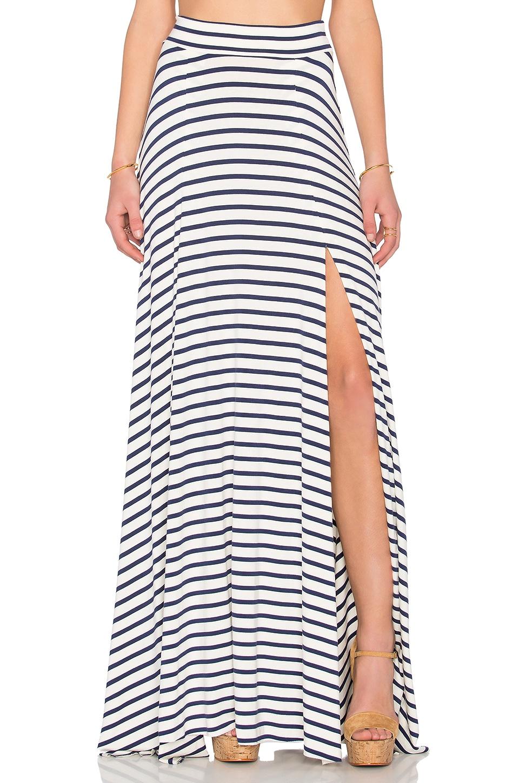 Rachel Pally Josefine Maxi Skirt in Atlantic Stripe