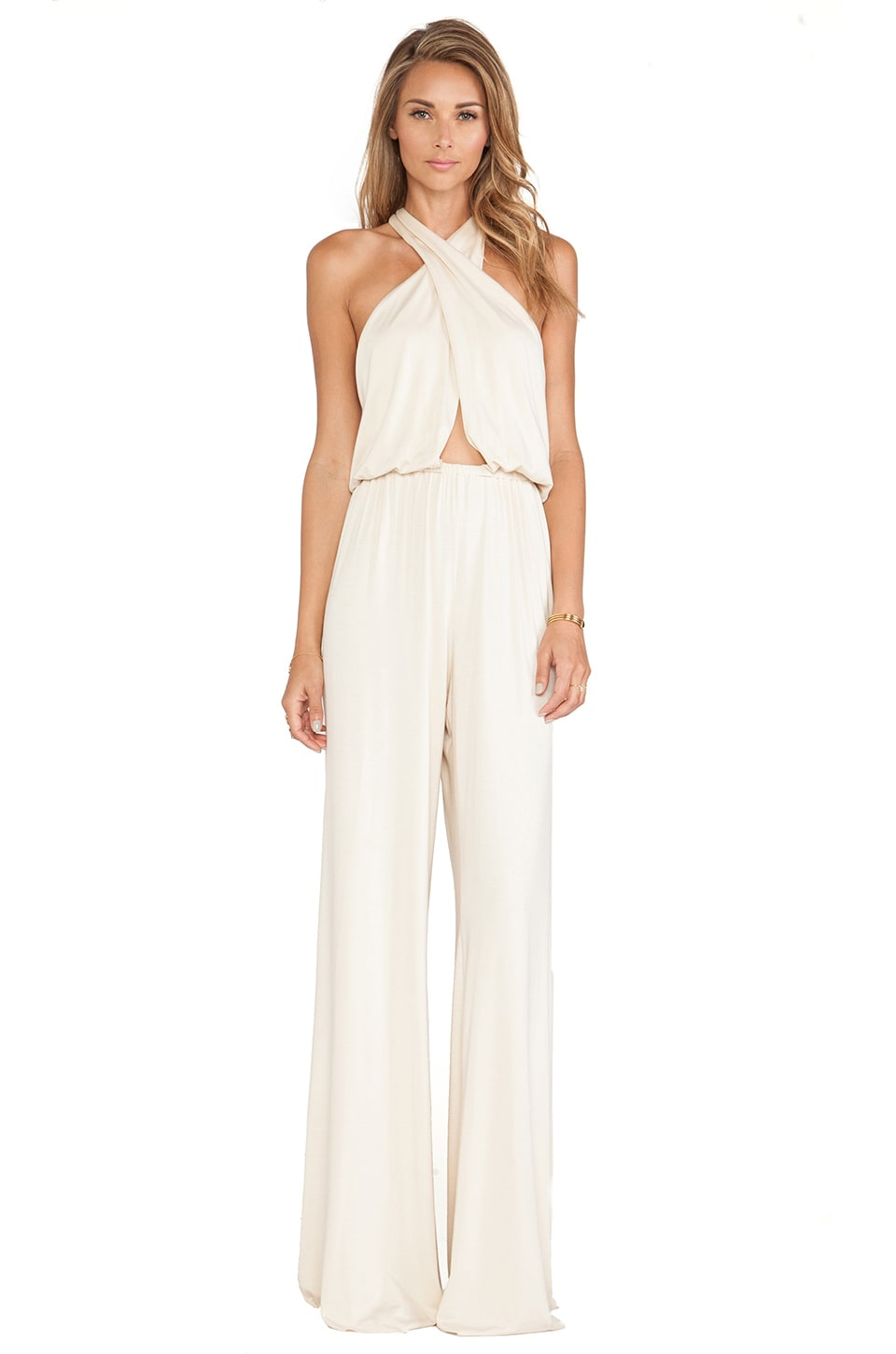 Rachel Pally Austin Jumpsuit in Cream