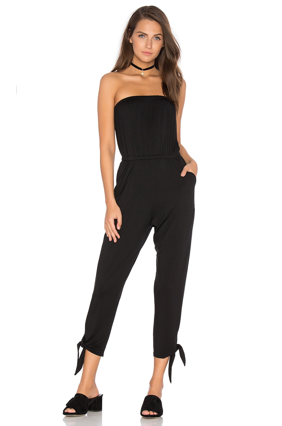 Rachel Pally Llewelyn Jumpsuit in Black