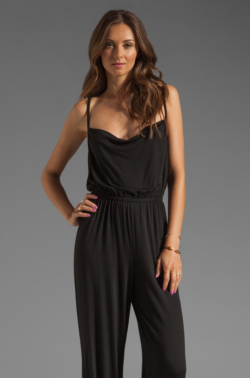 Rachel Pally Telly Jumpsuit in Black