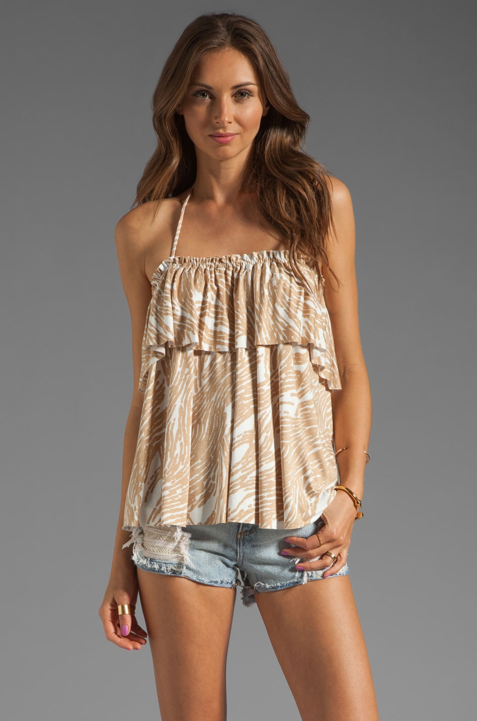 Rachel Pally Kao Top in Bamboo Current