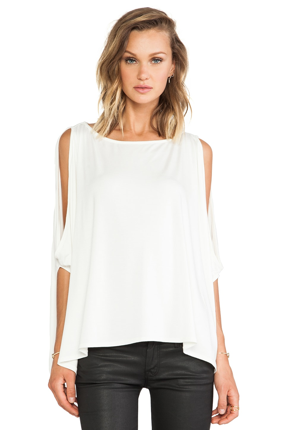 Rachel Pally Yalisa Crop Top in White