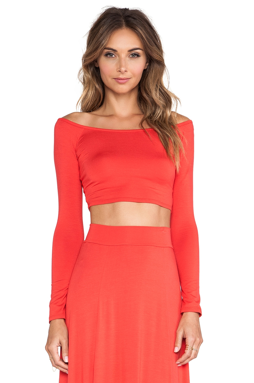 Rachel Pally Cunningham Crop Top in Pom Pom