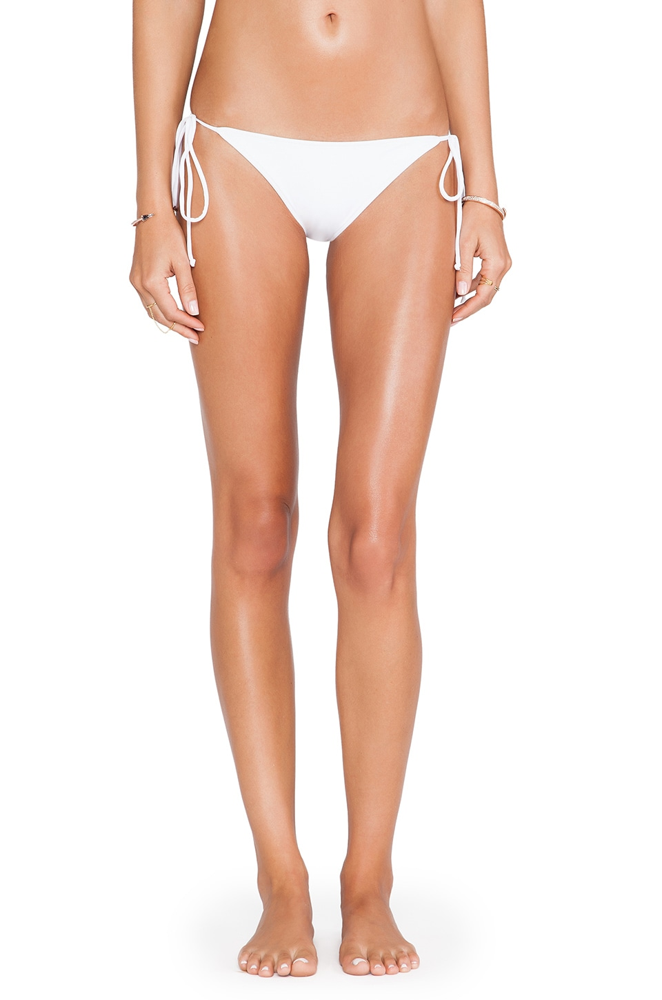 Rachel Pally Ibiza Bikini Bottom in White