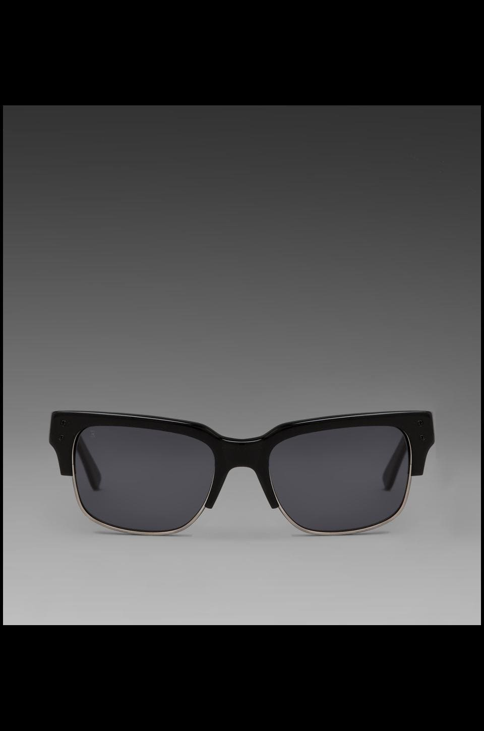 RAEN Polarized Underwood Sunglass in All Black