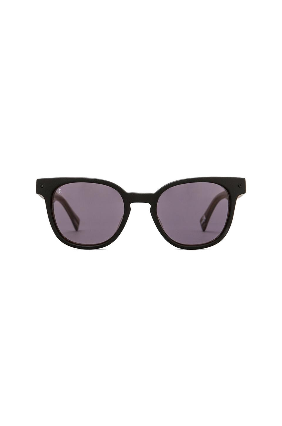 RAEN + Deus Ex Machina Squire Sunglass in Matte Black