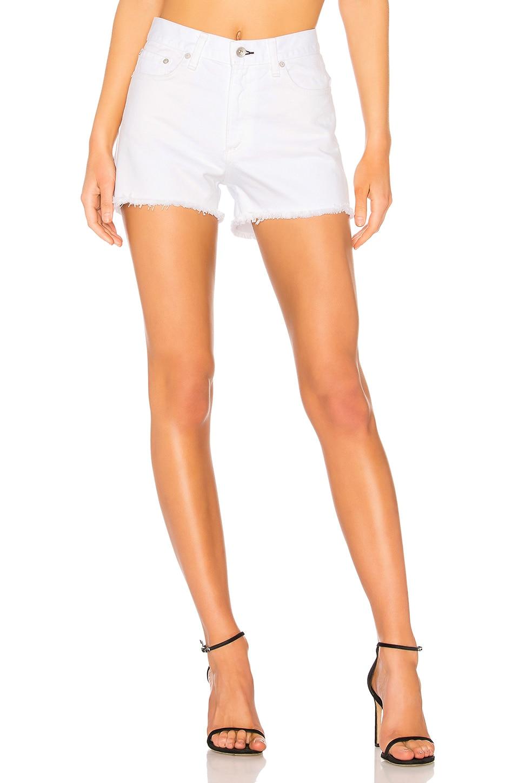 Rag & Bone Justine Short in White