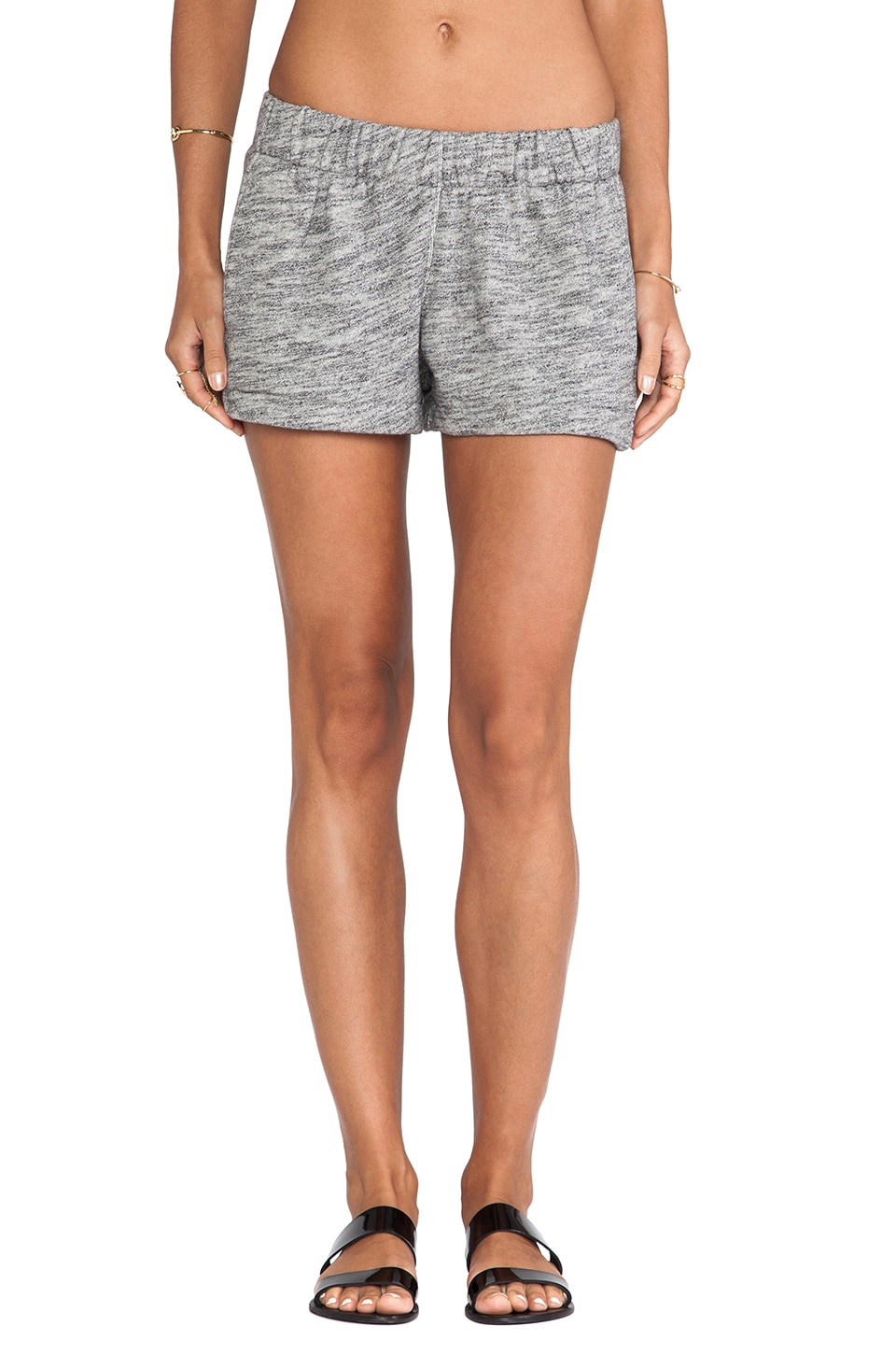 rag & bone/JEAN Pajama Short in Heather Grey