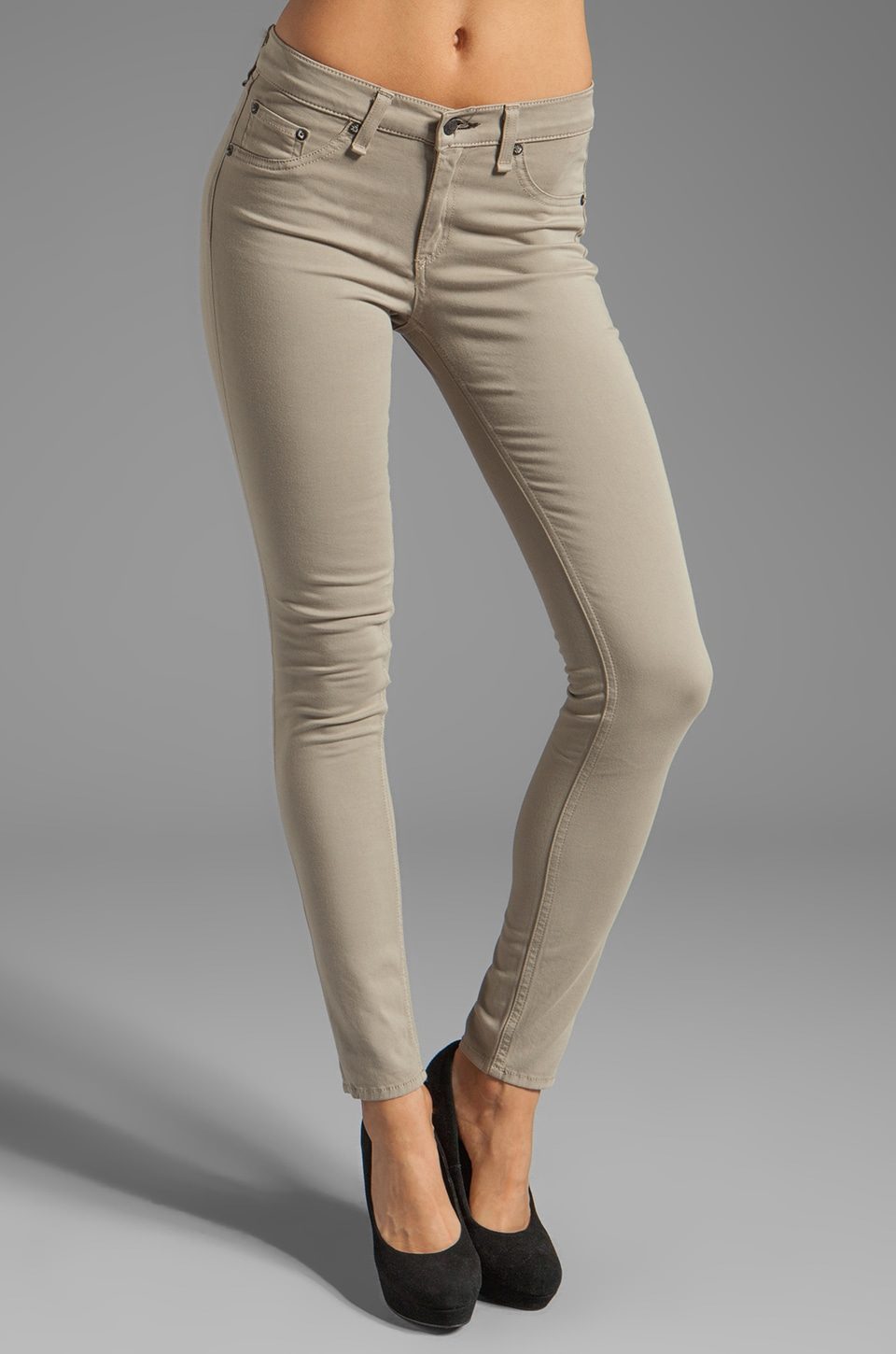 rag & bone/JEAN The Legging in Desert Khaki