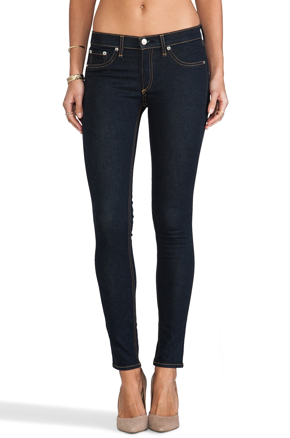 rag & bone/JEAN The Legging in Clean Indigo