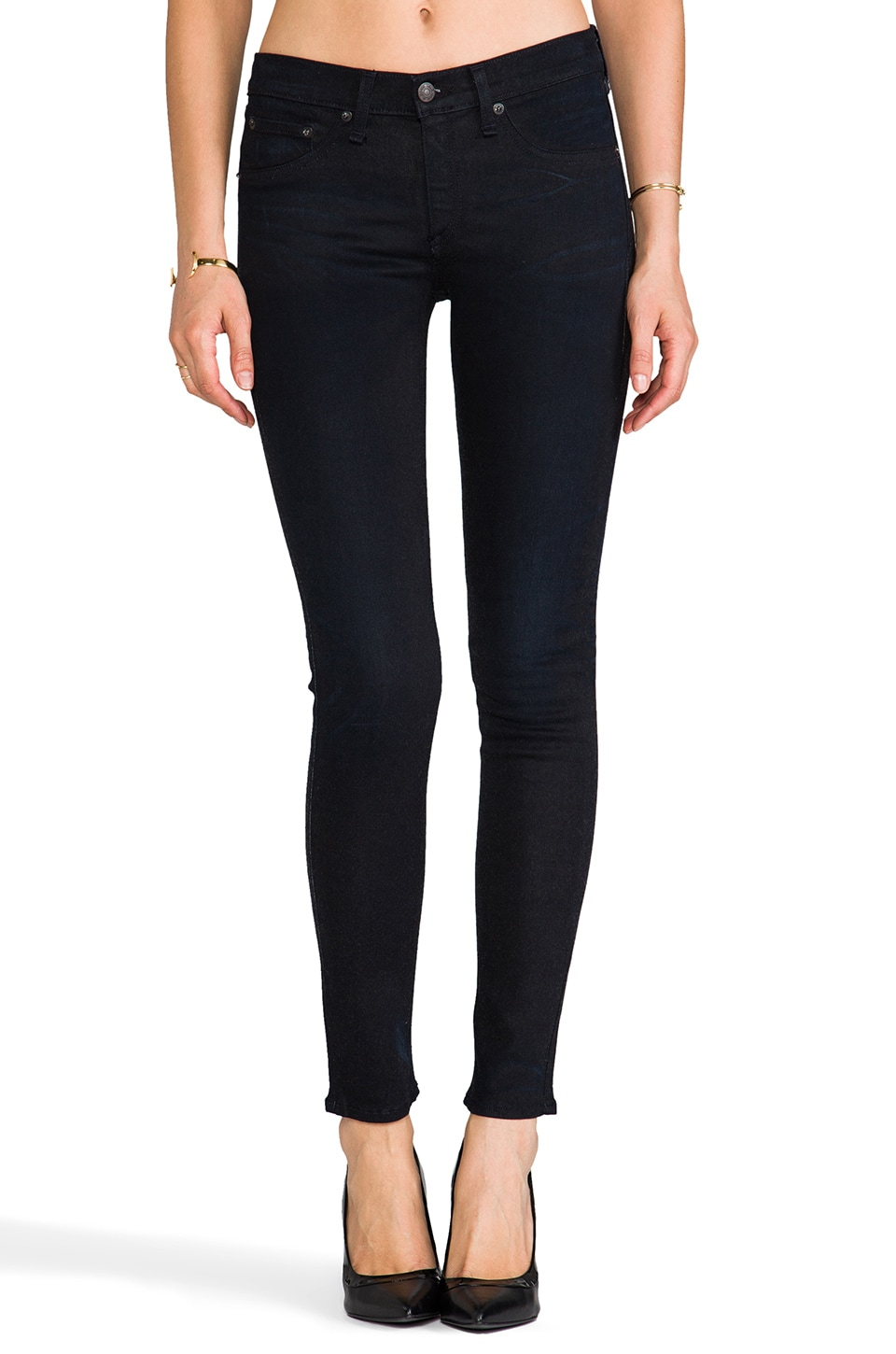 rag & bone/JEAN The Legging in Night Wash