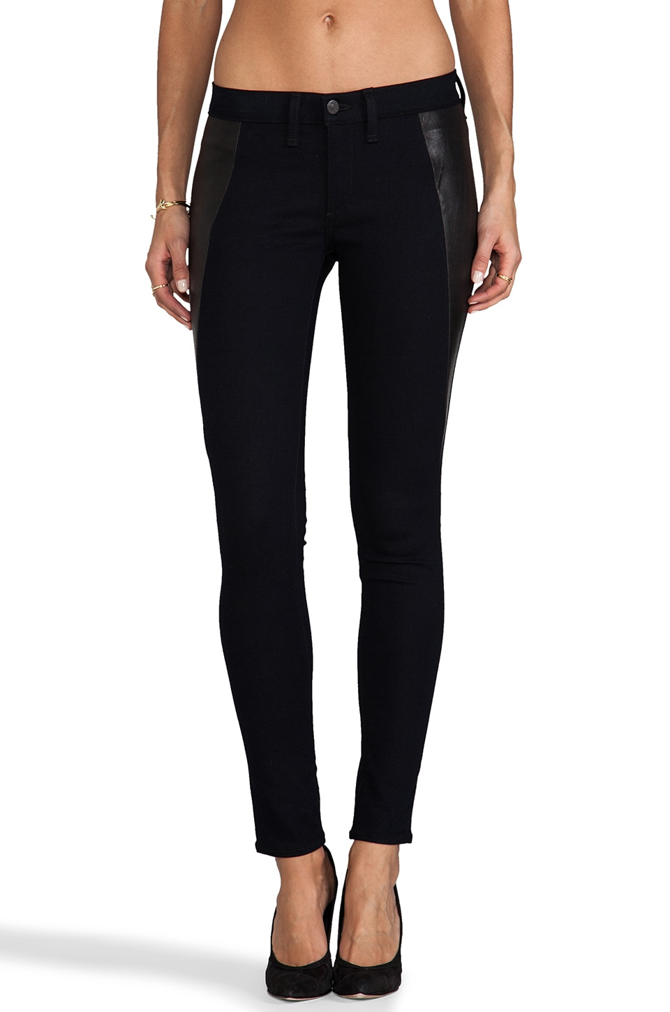 rag & bone/JEAN Pop Legging in Midnight