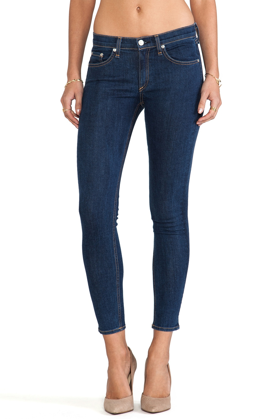 rag & bone/JEAN The Capri in Cypress
