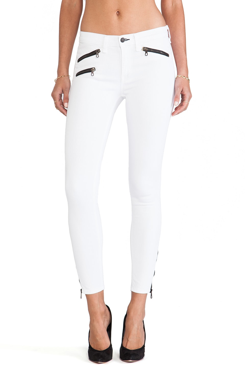 rag & bone/JEAN rag & bone RBW 23 Crop in Bright White