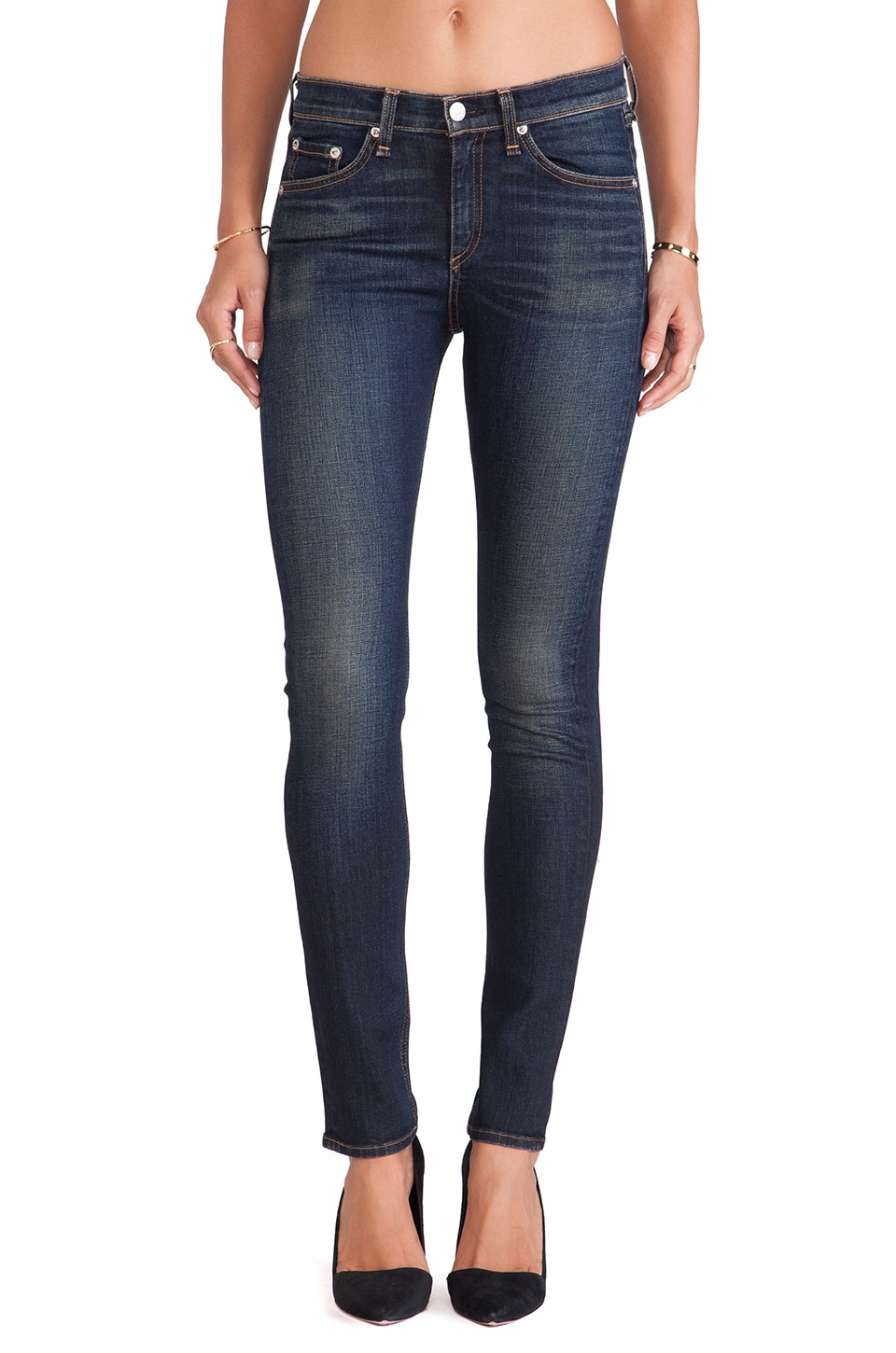 Rag & Bone The High-Rise Skinny in Chaucer