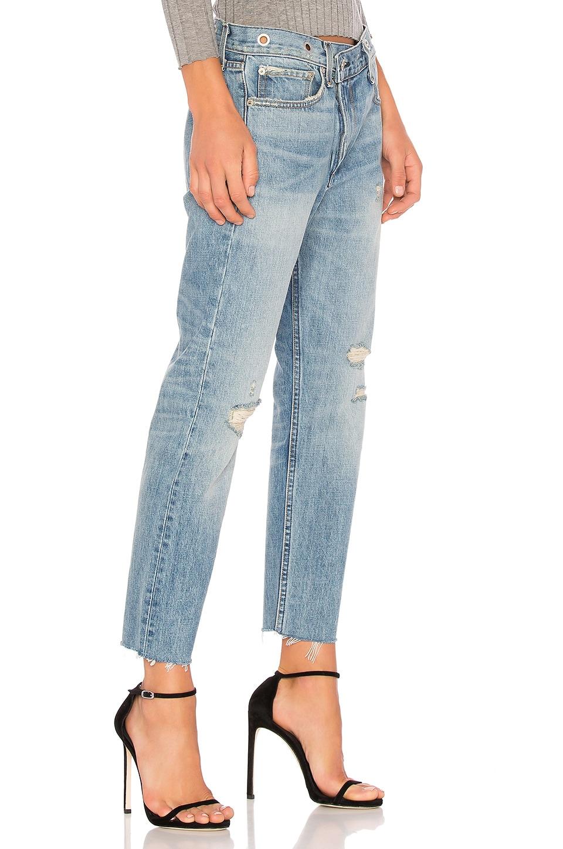 Rag bone blue wicked eyelet jeans in kit kat room modesens for Rag bone promo code