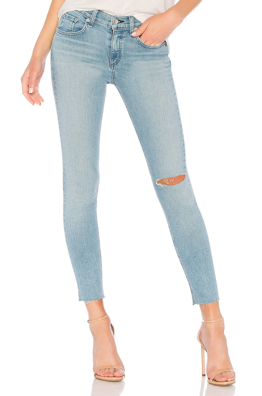 Ankle Skinny Jeans - Lt. Blue Size 25