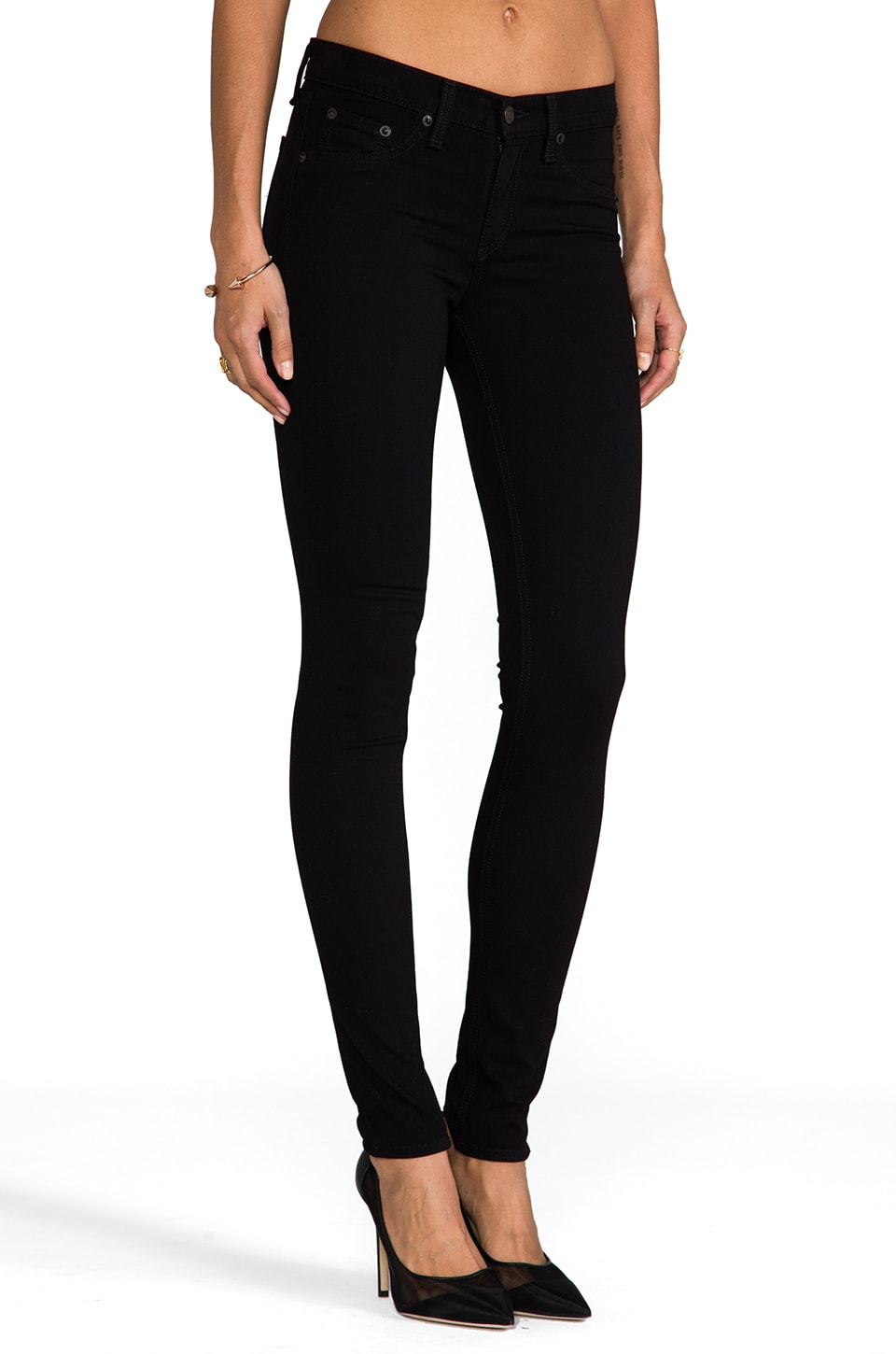 rag & bone/JEAN Legging in Black