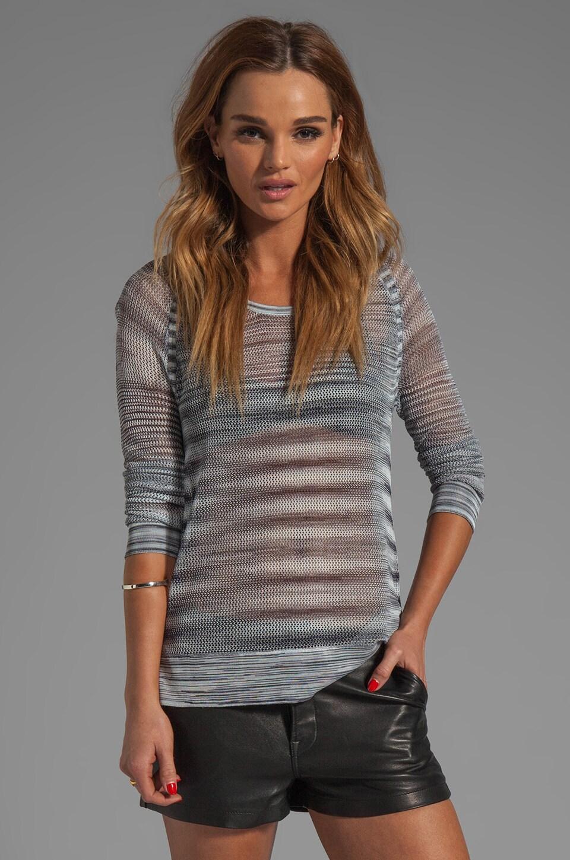 rag & bone/JEAN Allgauer Raglan Pullover in Grey