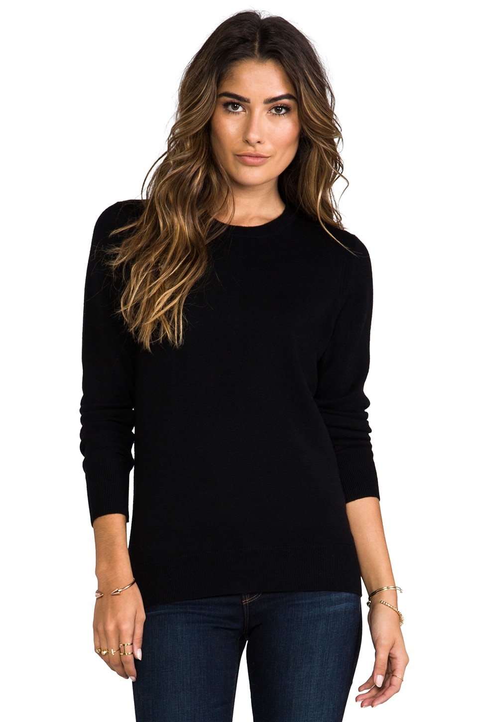 rag & bone/JEAN Natalie Sweater in Black