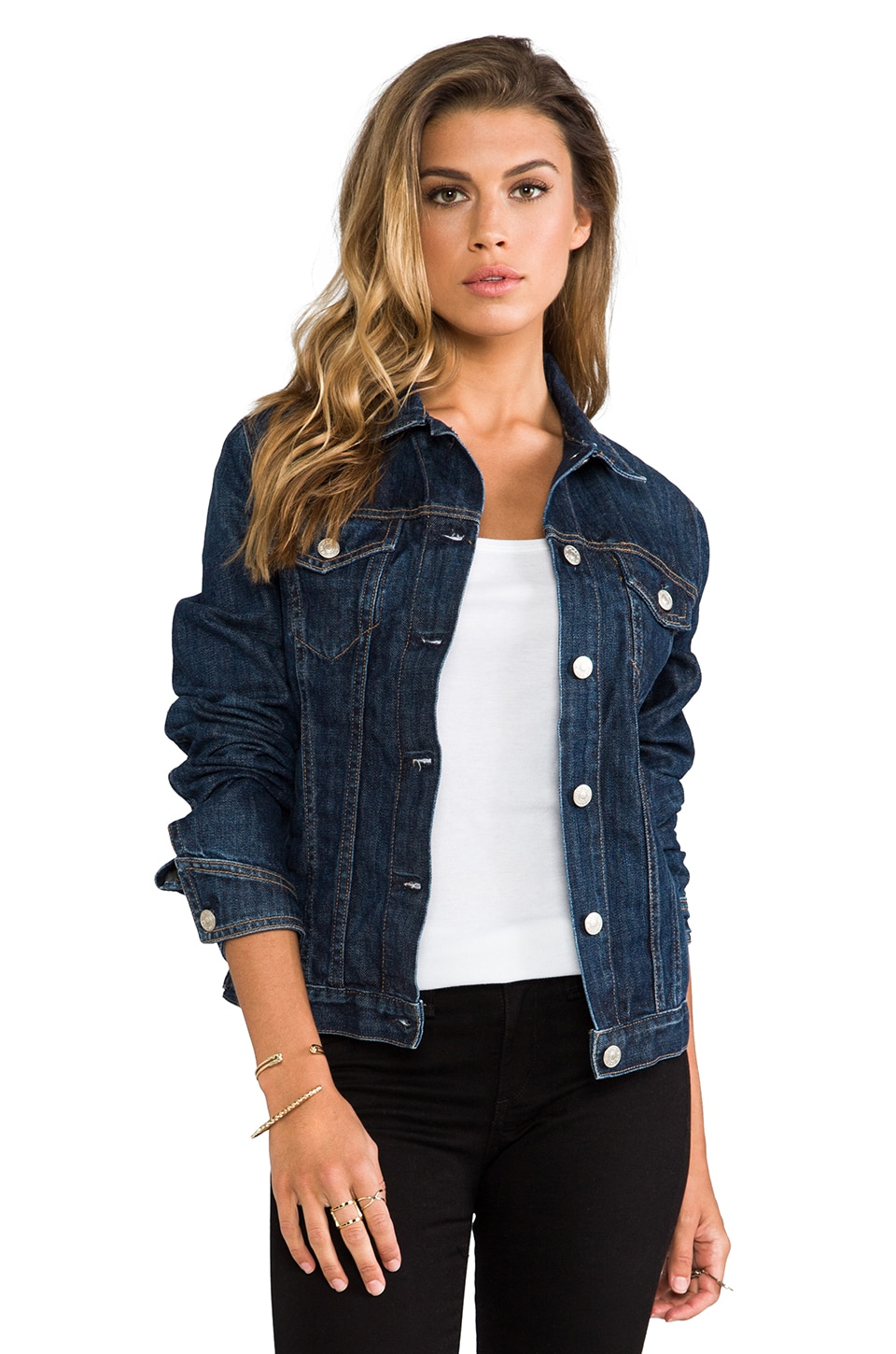 rag & bone/JEAN The Jean Jacket in Medium Indigo