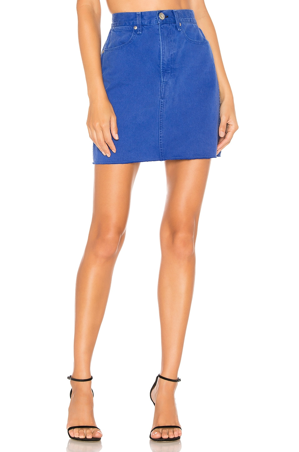 Rag & Bone Moss Skirt in Bright Blue