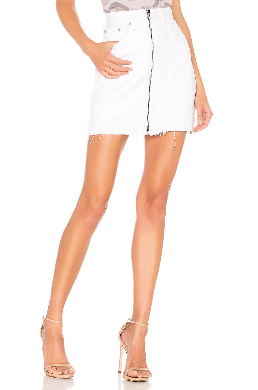 rag & bone/JEAN Anna Skirt in White