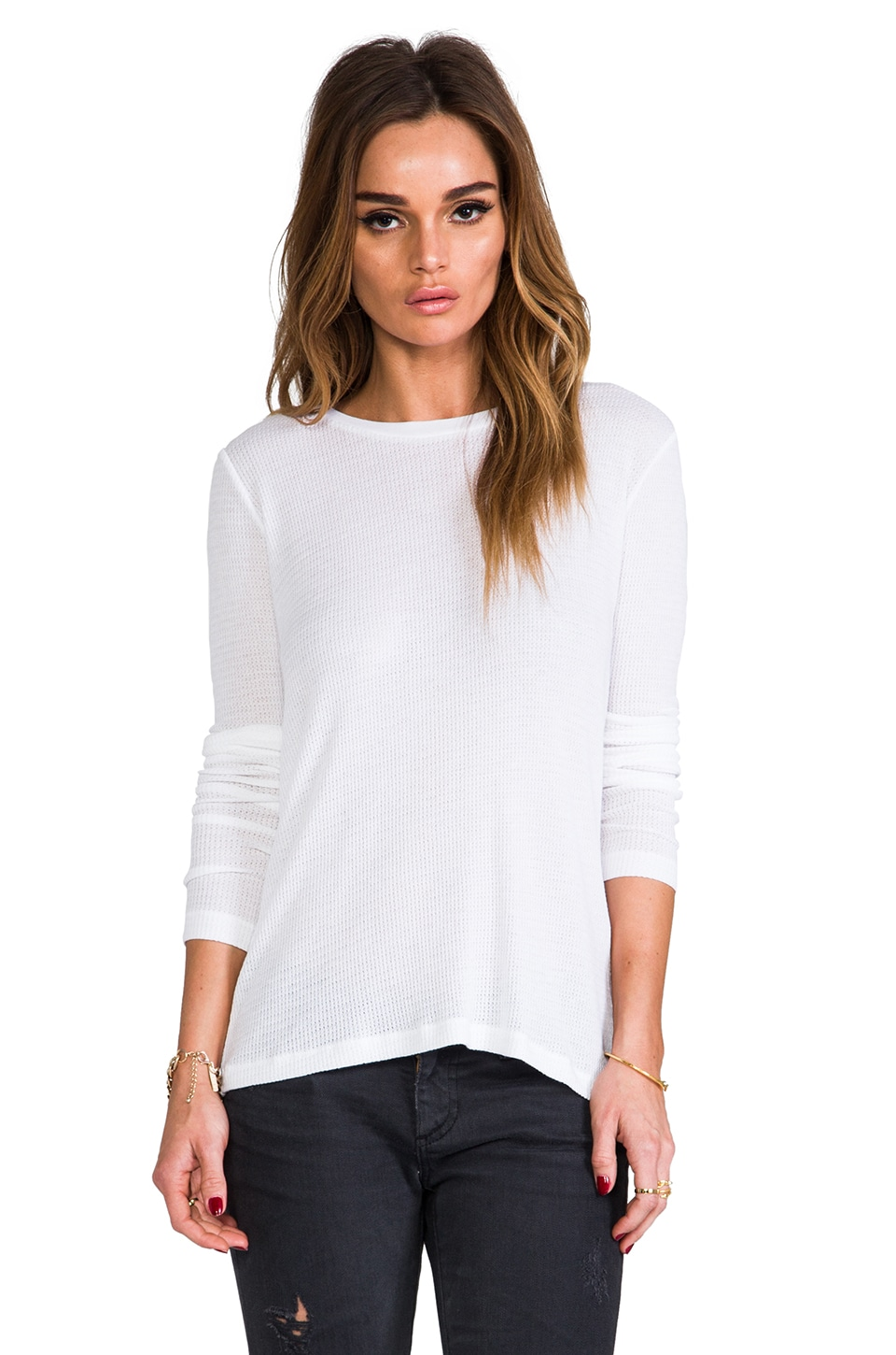 rag & bone/JEAN The Classic Tee in Bright White