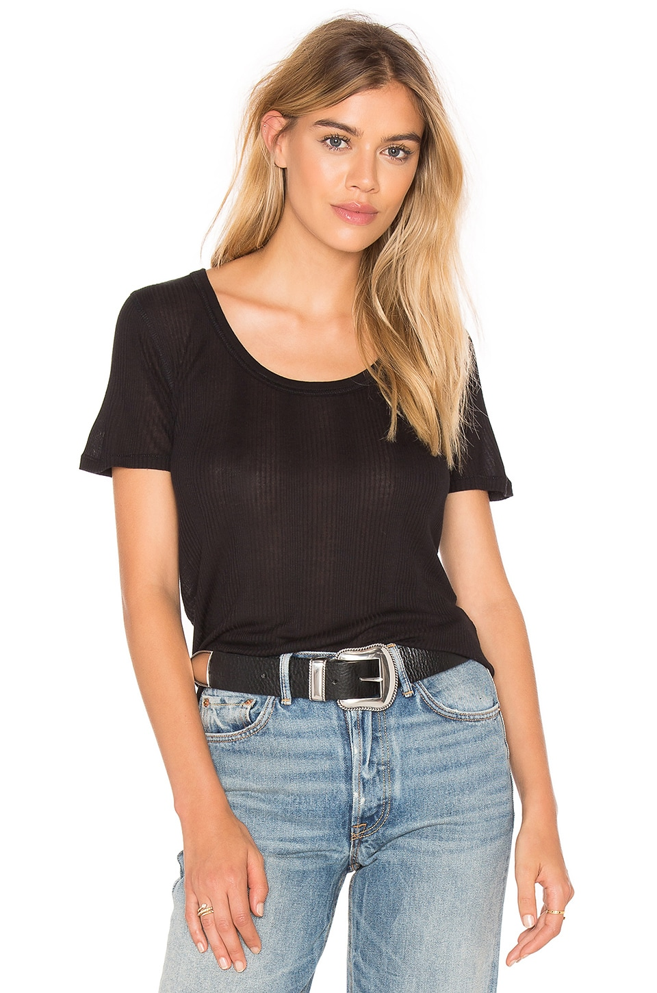 rag & bone/JEAN 90's Tee in Black