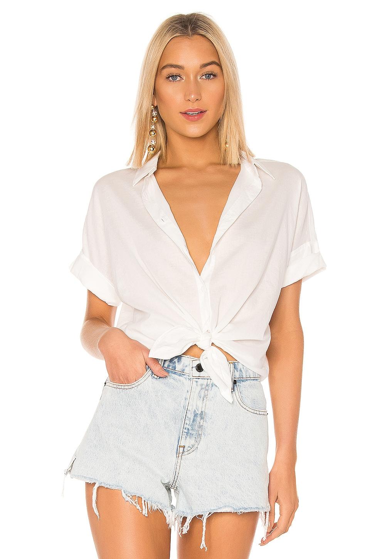 rag & bone/JEAN The Shirt in White
