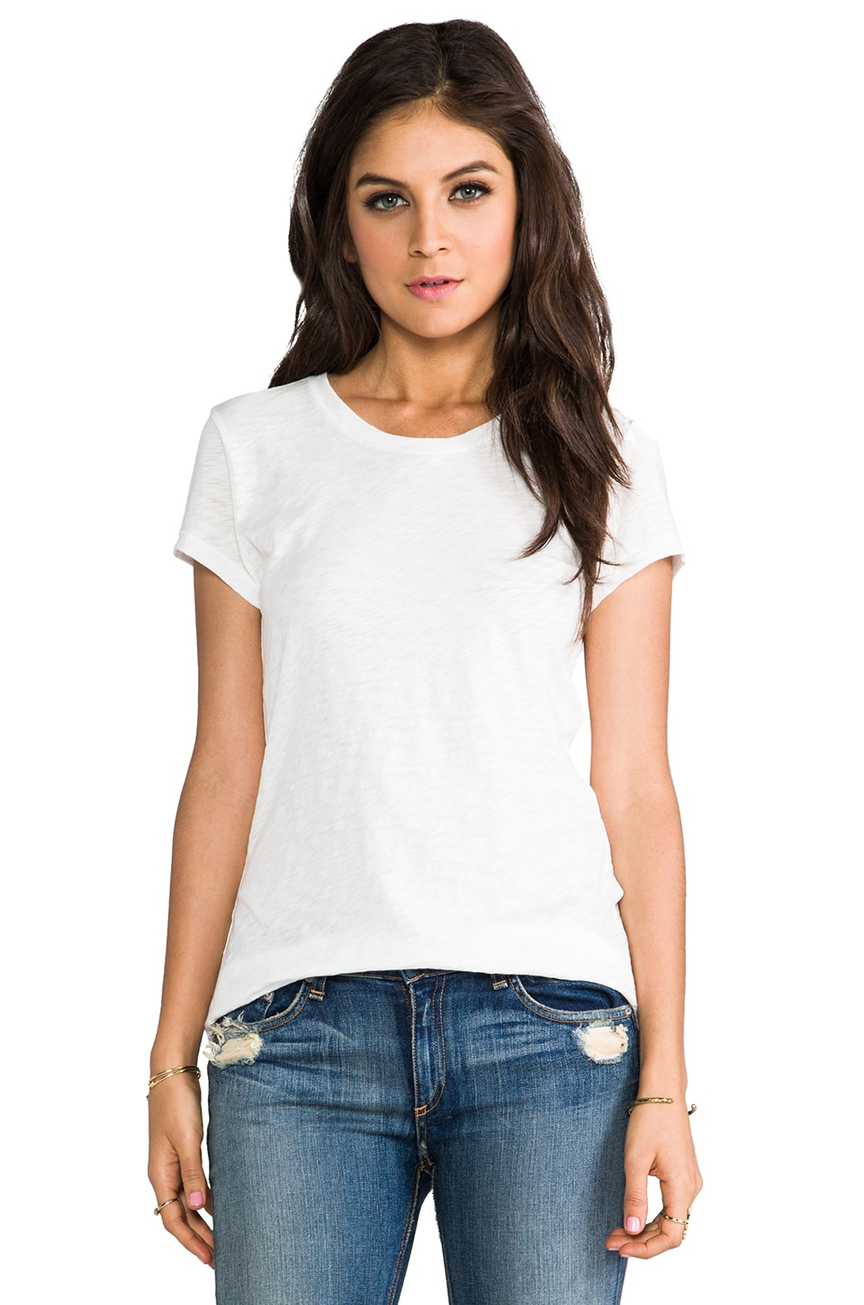 rag & bone/JEAN rag & bone The Classic Tee in Bright White