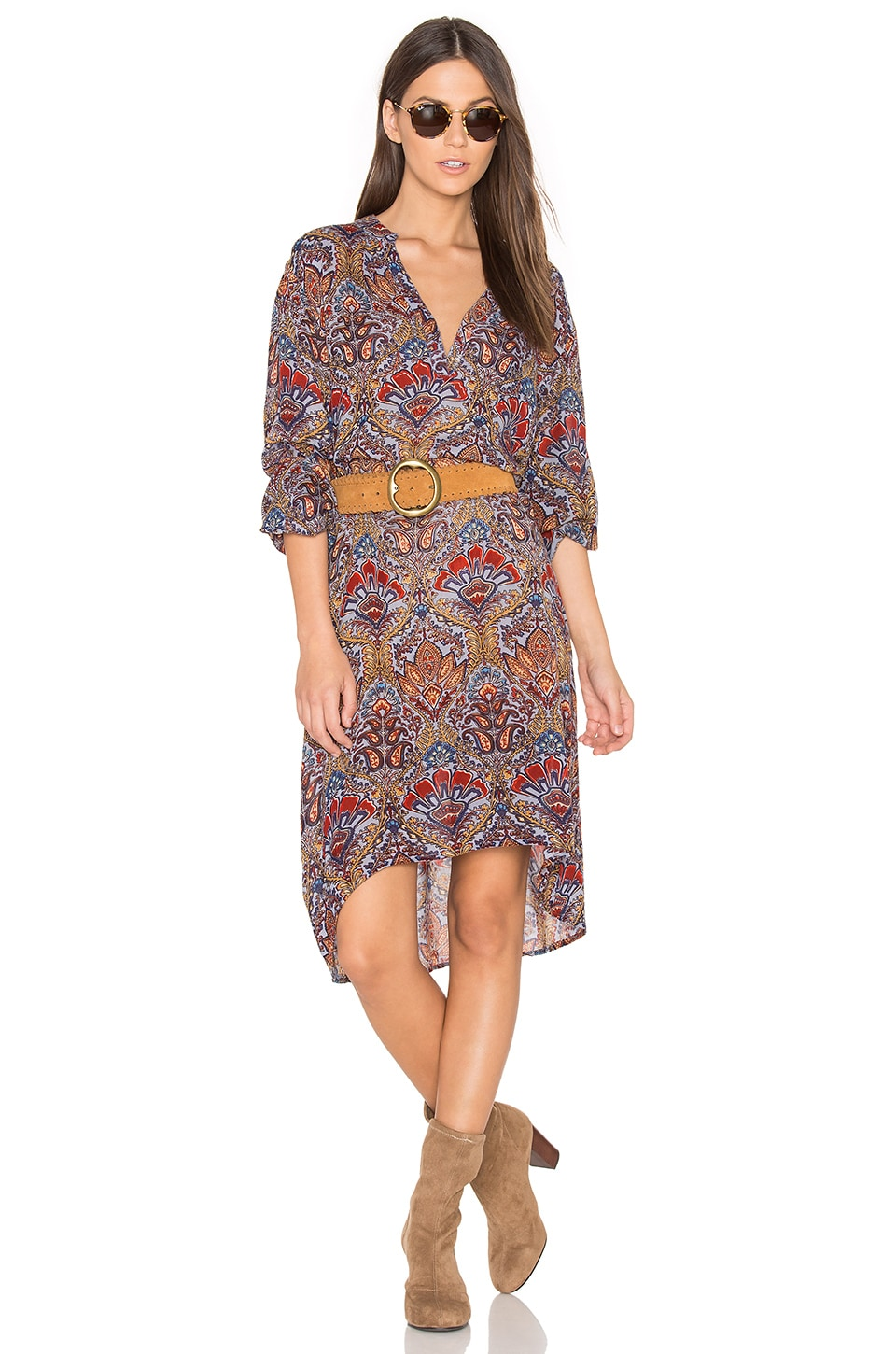 Batik Shirt Dress by Raga