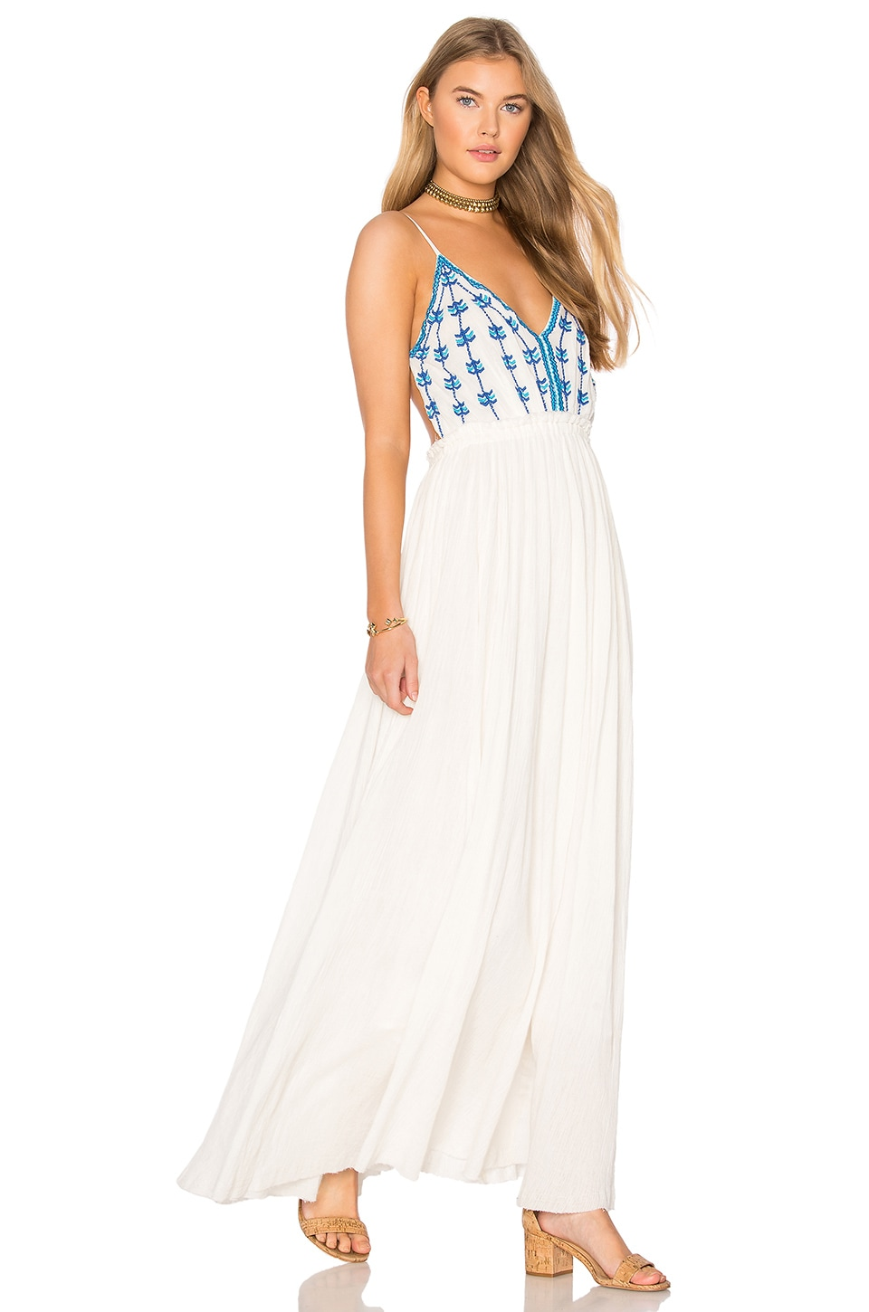 Riptide Backless Maxi Dress by Raga