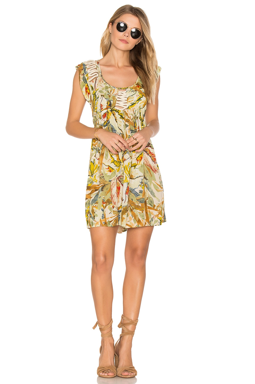 Makki Valley Cap Sleeve Mini Dress by Raga