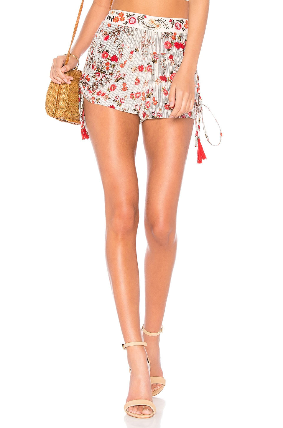 Primrose Drawstring Short In Multi