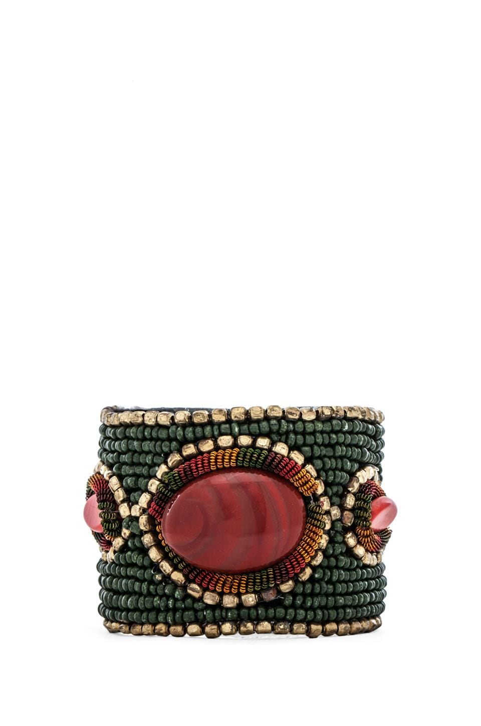 Raga Stone Beaded Bracelet in Teal
