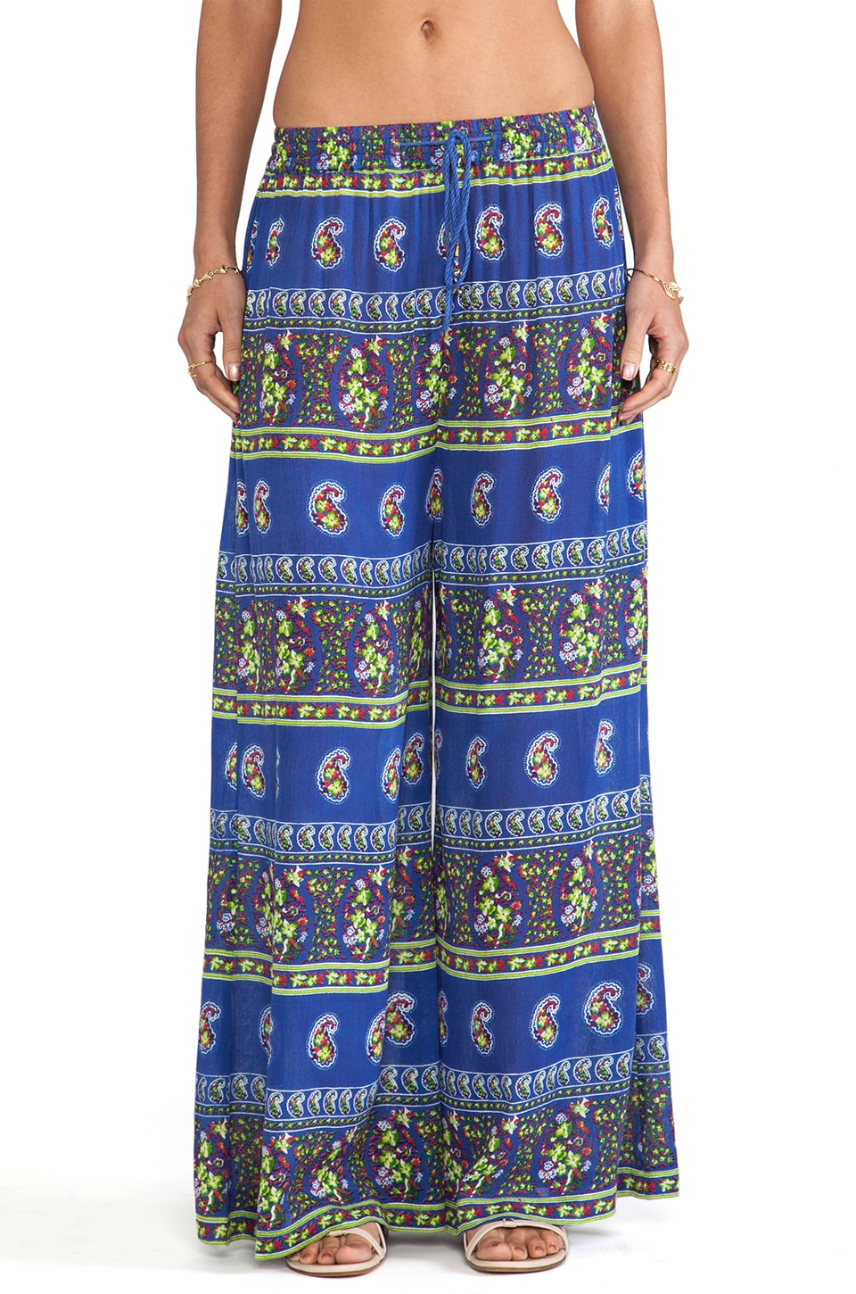 Raga Wide Leg Pants in Blue