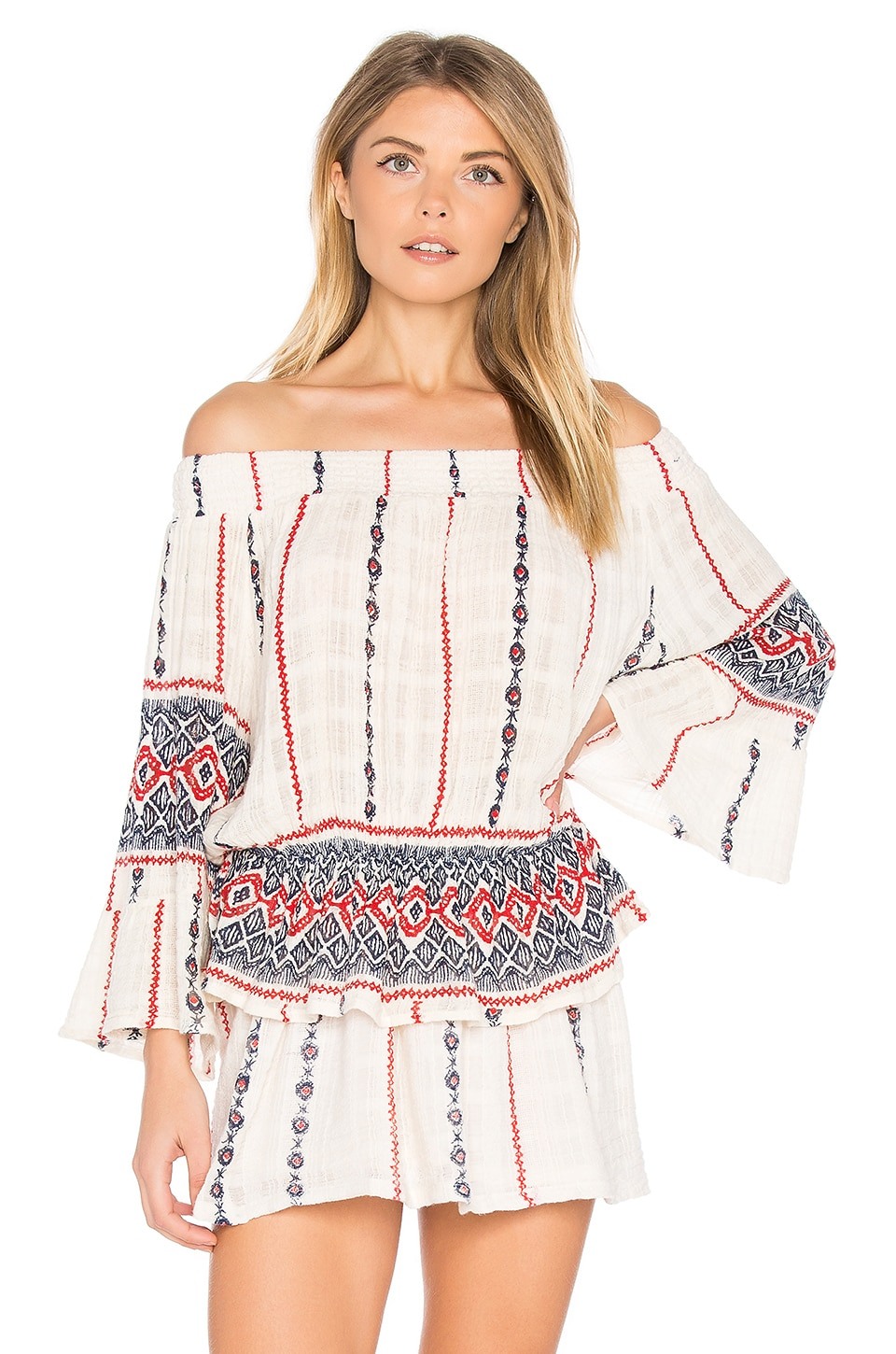 Raga Amalia Off Shoulder Top in White