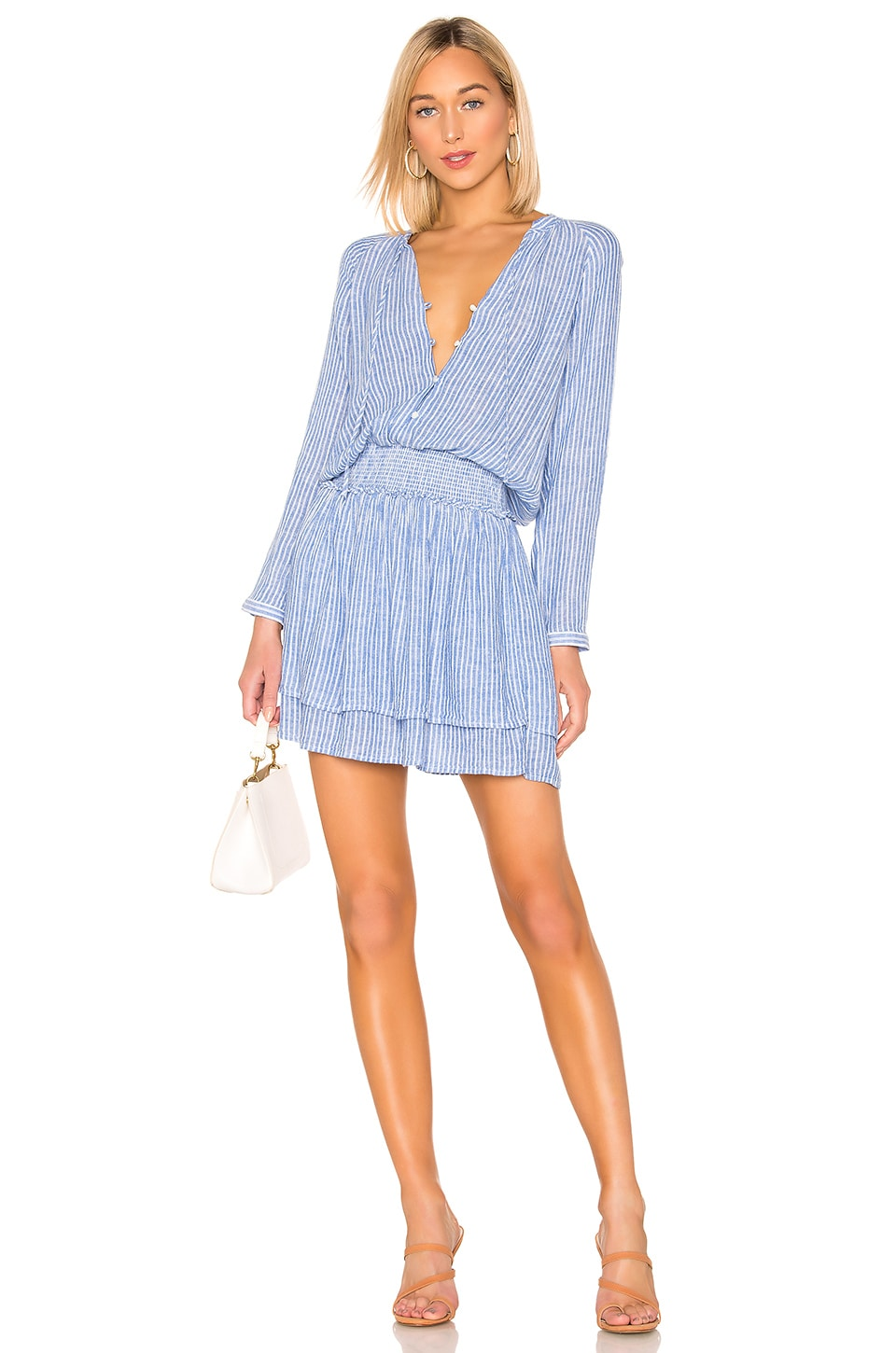 Rails Jasmine Dress in Azure Stripe