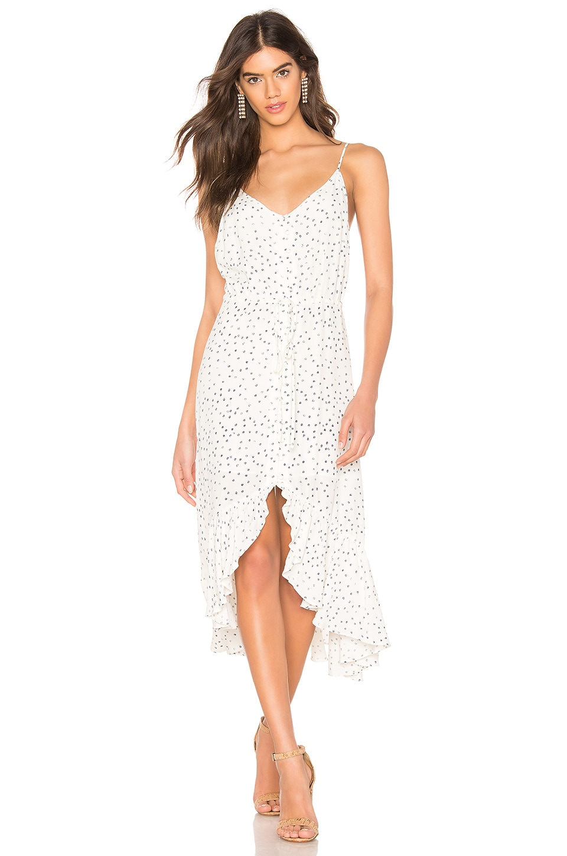 Rails Frida Dress in Ivory Speckled Dot
