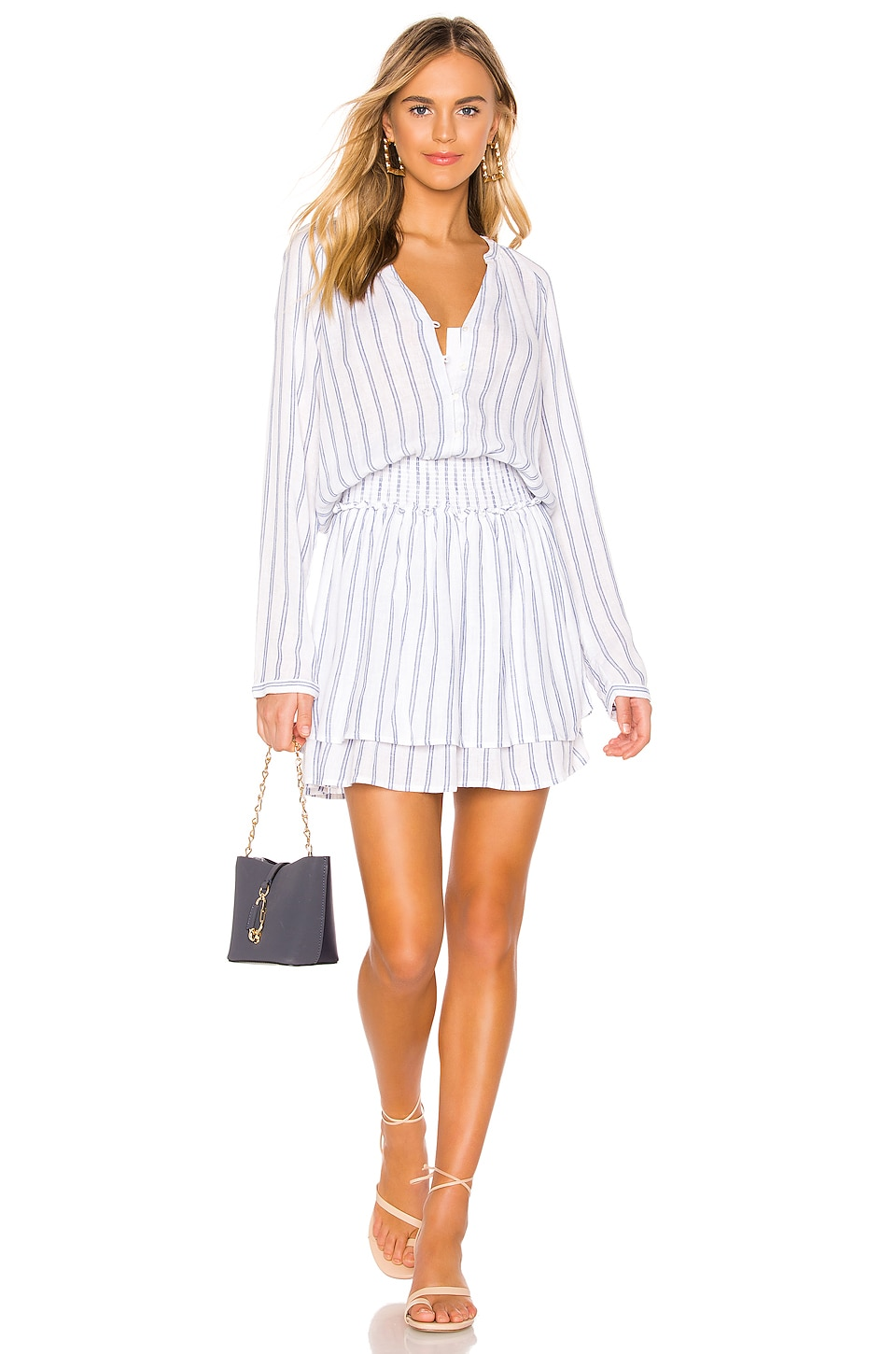 Rails Jasmine Dress in Marine Stripe